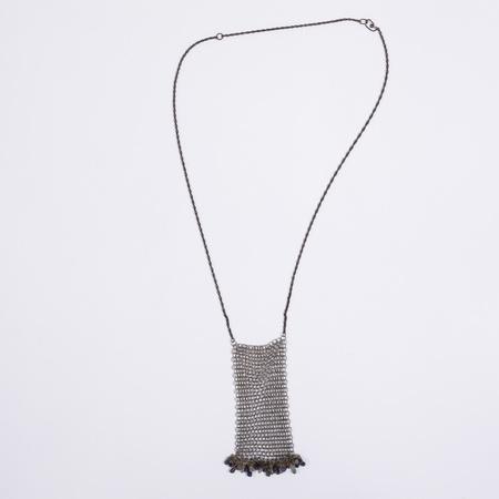 Aesa Chain Mail Necklace with Iolite & Labradorite