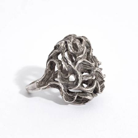Saint Claude Tree of Life Ring - sterling silver