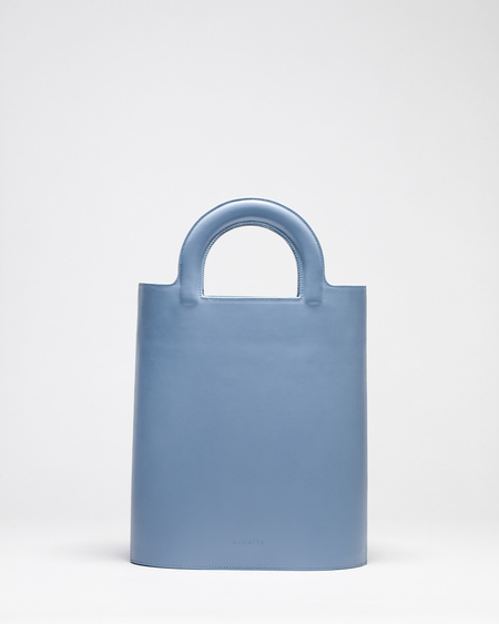 Audette Cabas Bag - Light Blue
