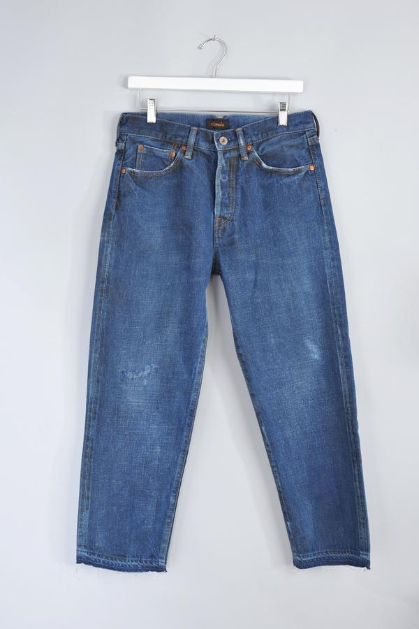 Medum Repair Ankle Cut Jeans by Chimala