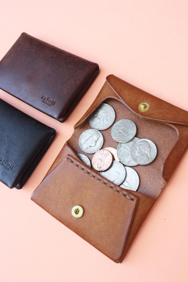Safuji - Leather Coin Case