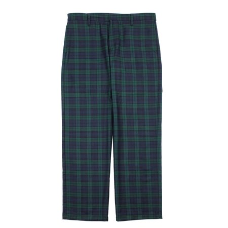 Noon Goons JONES PANTS - FOREST TARTAN