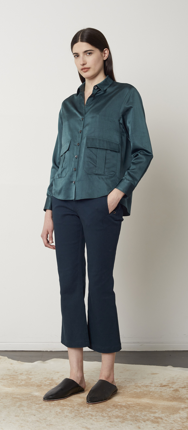 Unknown Jade Blouse
