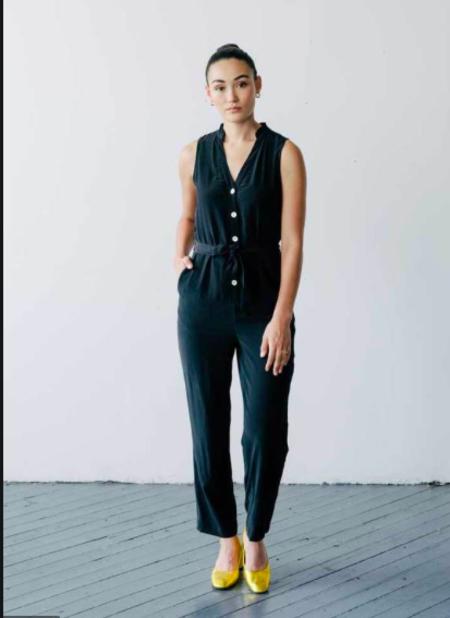 Seek Collective Reena Romper - black