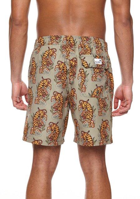 Boardies Eka Premium Swim Shorts - Bali Tiger