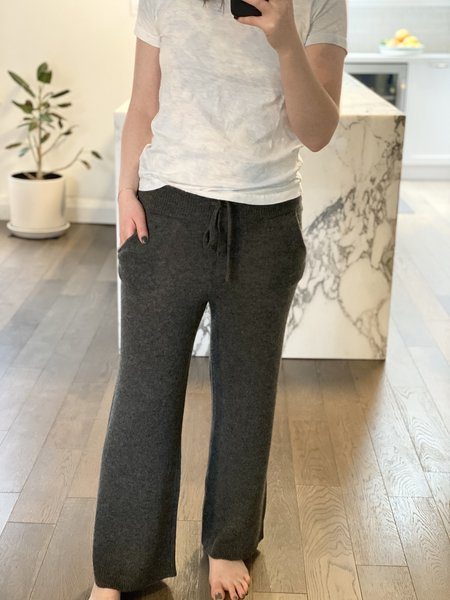 Oats Cashmere Arby Wide Pants