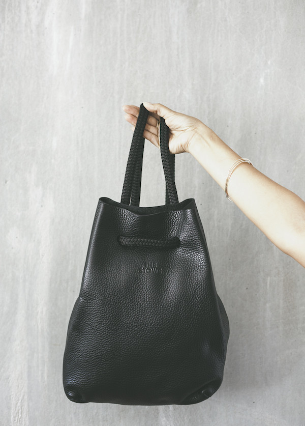 The Stowe - Frances Backpack in Black