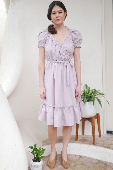Plante Pampas Dress - Lilac