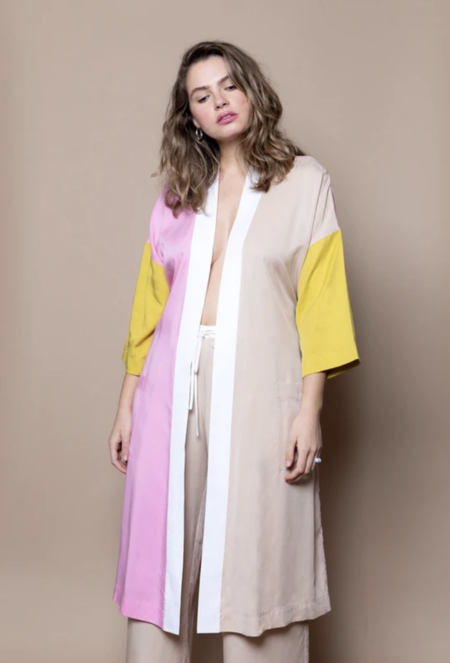 Soft Focus Mix Robe - Pink