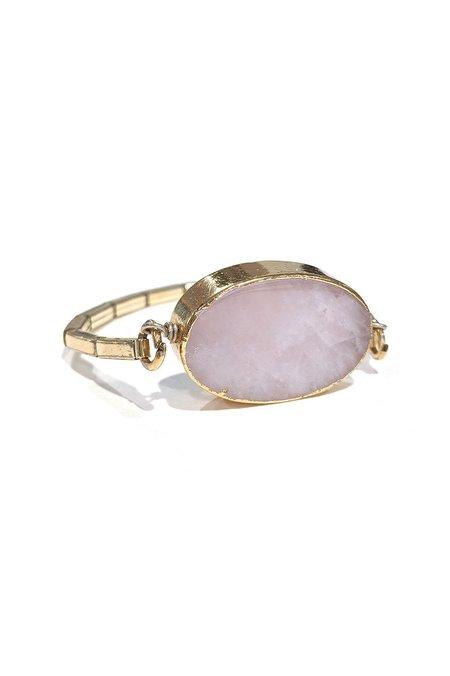 The Artemisian Bracelet - Rose Quartz