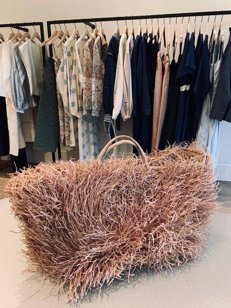 Samuray Martin Handmade Projeto Akra Orixas Large Bag - Natural