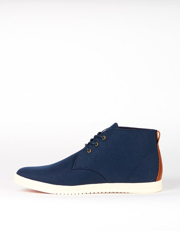Men's Clae Strayhorn Textile Nylon Canvas Deep Navy