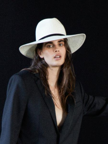 Janessa Leone Demetria Hat - Beige