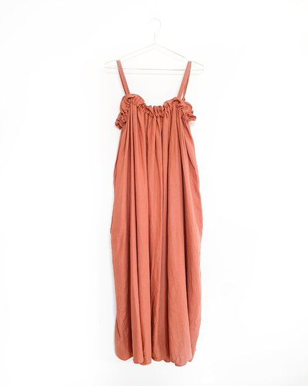 Town Clothes Lapine Dress - Clay