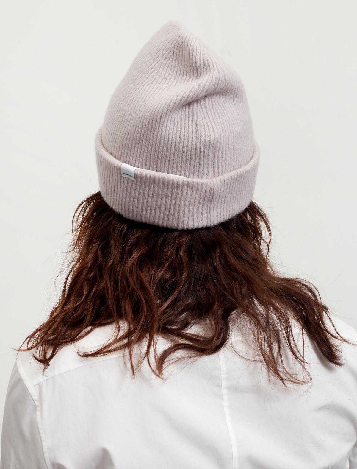 Norse Projects Womens Julia Felt Hat Dusty Lilac  6082041285