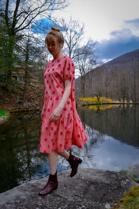 House Dress Layer Cake Dress - Rhubarb