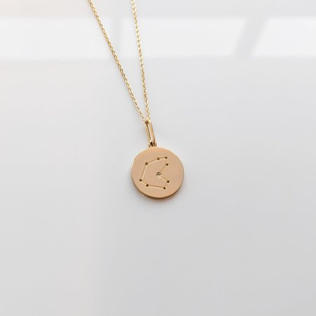 Thatch Constellation Charm Necklace - 14k gold plated