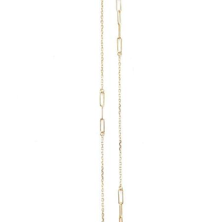 Jennifer Tuton Floating Open Loops Necklace