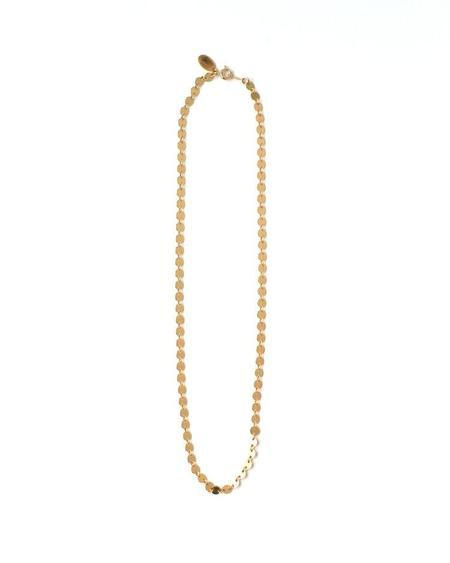Jennifer Tuton Gold Paillette Choker - 14K Goldfill