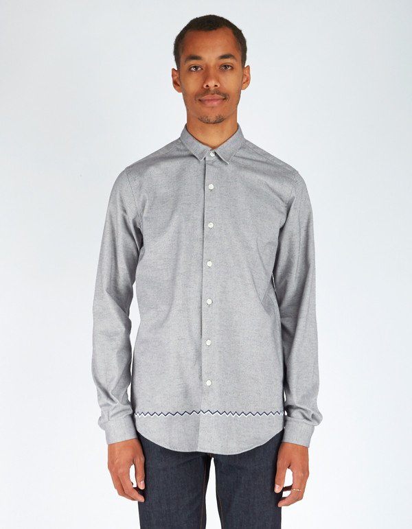 Men's Oh Dawn W.A.V.E.S. Shirt Grey Melange