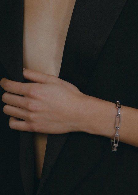 FARIS Grid Bracelet - Bronze