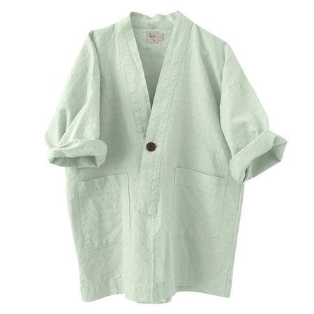 kids Nico Nico Child Renzo Kimono Jacket - Green