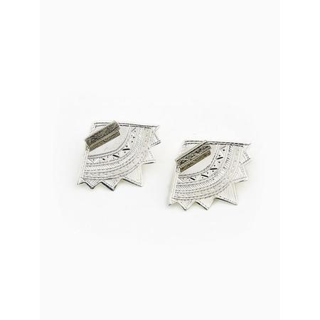 Ombre Claire Earrings Poesie - silver