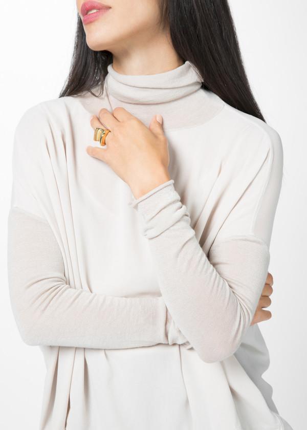 Kristensen du Nord Lightweight Silk Pullover