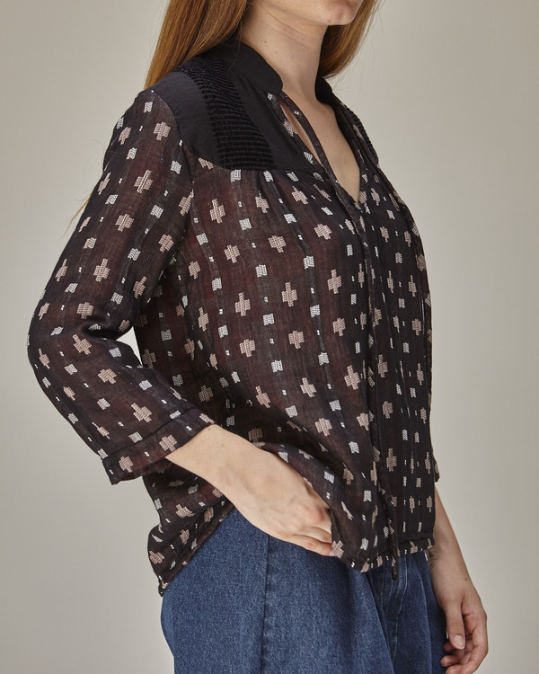 Ace & Jig Constance top in anisette