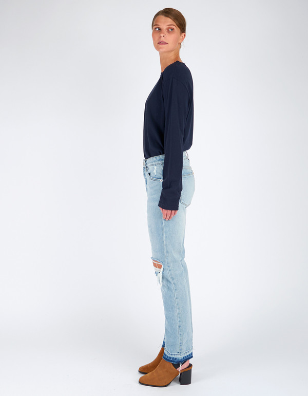 Neuw Lexi Slim Straight Jean Cure Blue