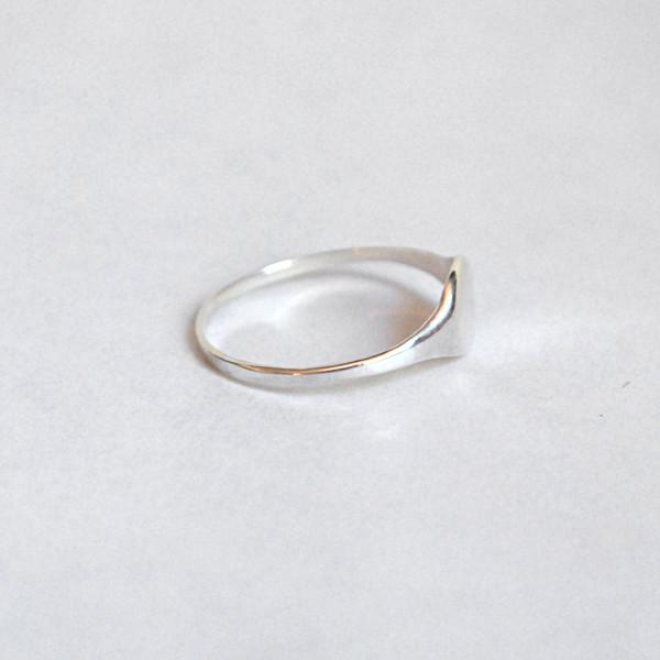 Drift/Riot Signet Ring - Silver