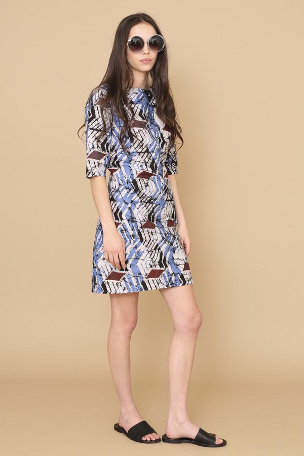 Osei-Duro Muto Dress in Dulse