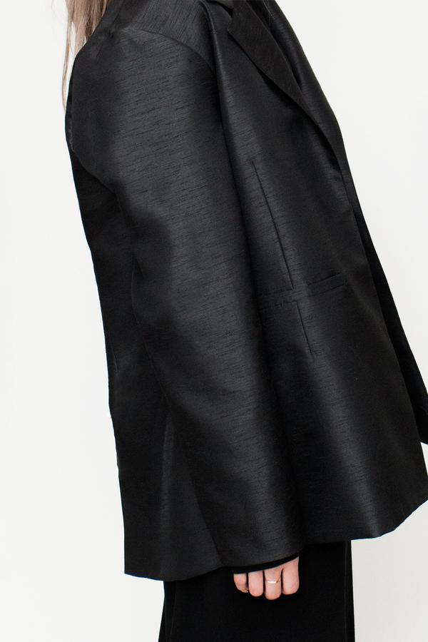 Bodega Thirteen - FW 16 New Ace Blazer Onyx