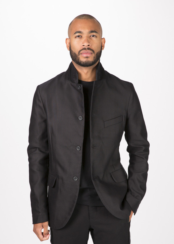 Hannes Roether Stretch Canvas Zepo Blazer