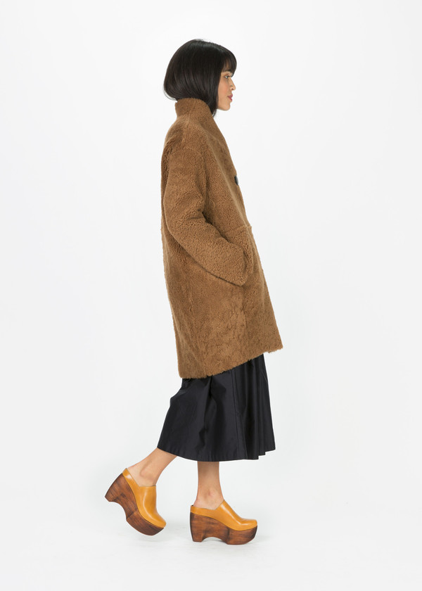 Anne Vest East Shearling Coat