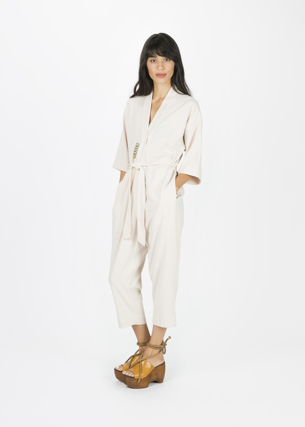 Jesse Kamm Kimono Jumpsuit