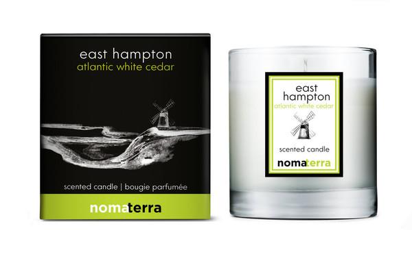 Nomaterra - Atlantic White Cedar Soy Candle (East Hampton)