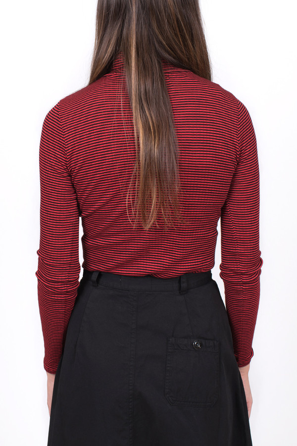 6397 Stripe Turtleneck