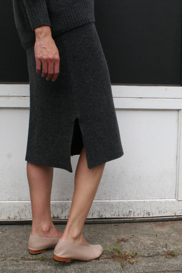 OBJECTS WITHOUT MEANING FITTED SKIRT