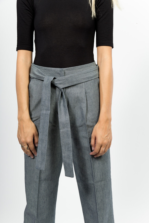 Trademark Tie Waist Pant