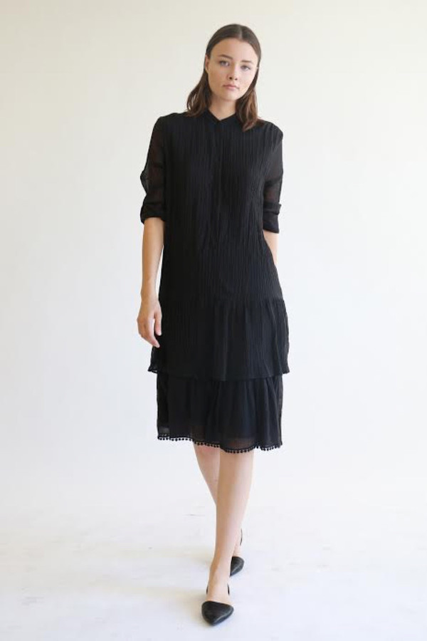 Heidi Merrick Caldera Dress in Black