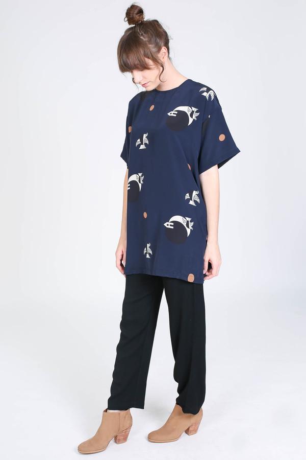 Delfina Balda Luna tunic in dos lunas