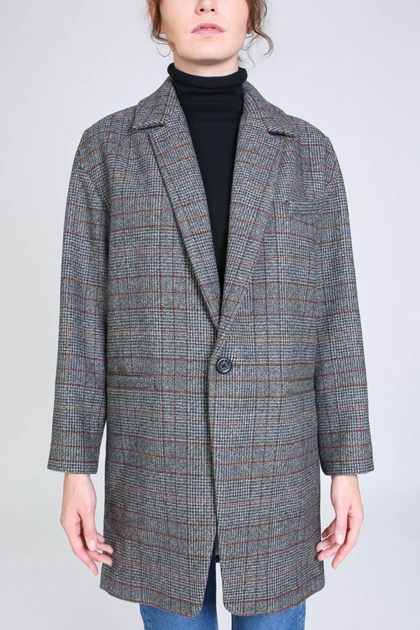 Creatures of Comfort Nicolas jacket in harris tweed