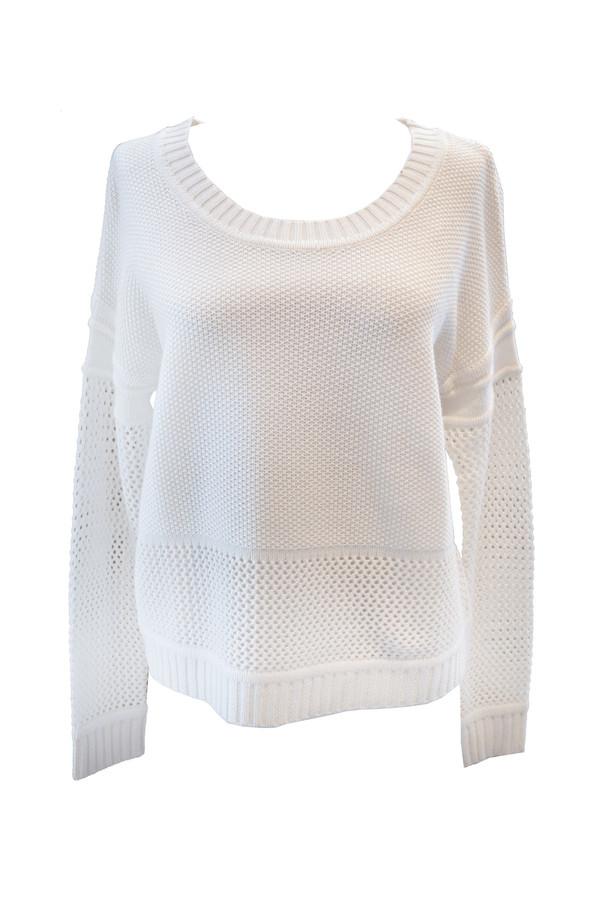 Splendid - Mesh Mix Pullover Sweater