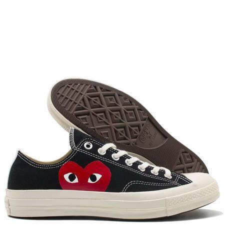 Converse x COMME des GARÇONS PLAY Chuck Taylor Ox Sneaker - Black