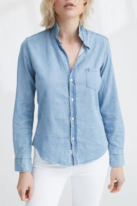 Frank & Eileen Barry Wash Button Down shirt - Blue Wash