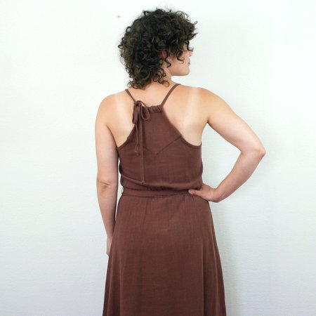 COKLUCH Sahara Dress - Amaretto