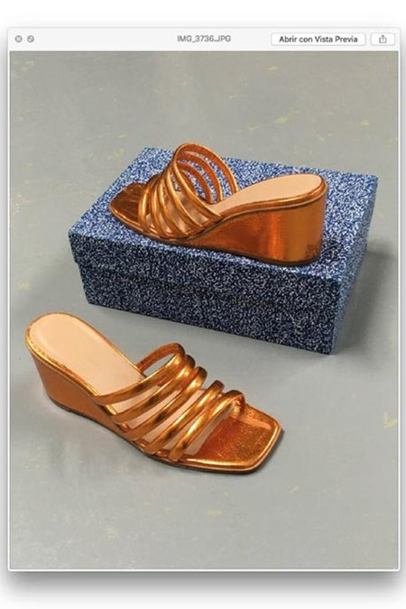 Paloma Wool Magdalene II Sandals - Copper Orange