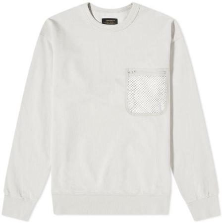 CARHARTT WIP Military Mesh Pocket Sweater - Pebble