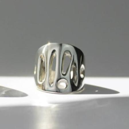 L.Greenwalt Organic Statement Ring - Sterling Silver